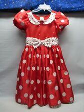 Disney Store Minnie Mouse Dress Girls Size 10