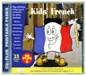 KIDS' FRENCH (CD, audio & rom) First language learning CD. Age 5+ NEW & WRAPPED