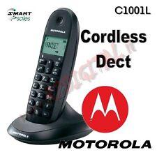TÉLÉPHONE SANS FILS MOTOROLA DECT C1001L GAP CARNET D'ADRESSES 50 CONTACTS