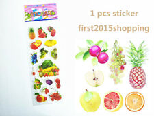 Fruit stickers 100% NEW Kids Favorite Amazed Birthday Kindergarten gift