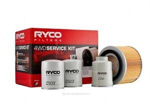 Ryco 4x4 Filter Service Kit RSK32 fits Nissan Patrol 4.2 TD (GU)