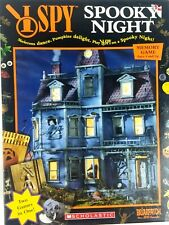 Briarpatch I SPY Spooky Night Memory Game Scholastic Made in USA