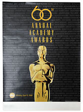 60th Academy Awards Poster
