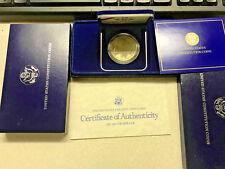 STATI UNITI come Nuovo Constitution Argento Dollaro in ORIGINALE Mint Box