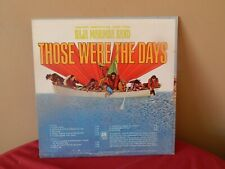 "Baja Marimba Band: Those Were The Days 12"" 33 RPM LP (song titles listed)"