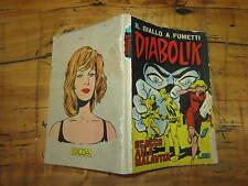 DIABOLIK SECONDA SERIE ORIGINALE  NUMERO 12 SCACCO ALLA MALAVITA SODIP 14/6/1965