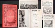DIXON Das Heilige Land Reise 1877 Gutes Exemplar Palästina