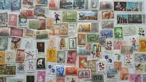 500 Different Argentina Pictorials and Commemoratives Stamp Collection