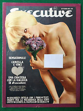 EXECUTIVE n.6 Settembre 1968 (ITA) LUCIANA GILLI RANDY LIND CANDY