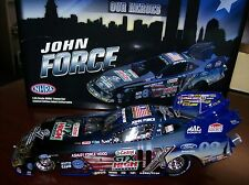 2011 JOHN FORCE HONORING OUR HEROES MUSTANG NHRA FUNNY CAR AUTOGRAPHED