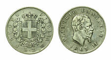 pcc1638_1) Regno Vittorio Emanuele II - 2 lira stemma 1863 Torino