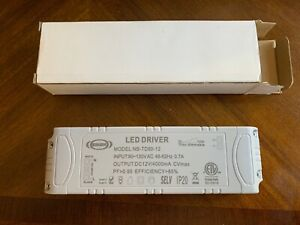 New! EIKON LED DRIVER model:NB-TD60-12 (120v to 12v) VOLTAGE TRANSFORMER