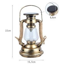 Solar LED Candle Light Outdoor Garden Yard Landscape Lantern Hanging Warm Lamp
