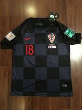 6a0e919ad Nike Croatia World Cup Semi-Finals 2018 Ante Rebic  18 Jersey size XL