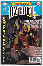 """Azrael Annual #3 (1997; vf 8.0) """"Pulp Heroes"""" self-contained 48-pg story"""