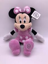 "Disney Minnie Mouse Pink Plush Toy 19"" Authentic Disney Soft Doll"