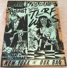 Faile Works On Wood LTD Berlin Edition Bookcover Hand Painted Signed /100 Banksy