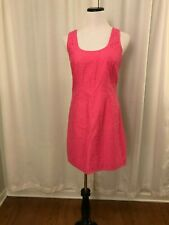 Lilly Pulitzer Pink Dress Size 6 Sleeveless Lonnie Floral Scoop Neck Sheath New