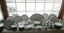 79 PCS ROYAL SCHWARZBURG GERMANY SWEETHOME PAT BLUE FLORAL DINNER SET +SERV PCS