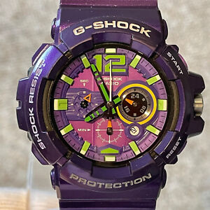 Casio G-Shock GAC-110-6AJF Chrono Purple Evangelion Anime Men's Watch