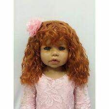 """NWT Masterpiece Dolls RARE Cassi Strawberry Blonde GREEN Eyes Monika Levenig 34"""""""
