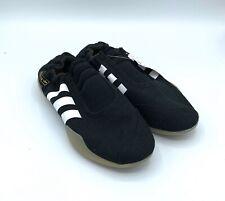 New Adidas Taekwondo Women's Core Black Size 5 Slip on Shoes, D98205