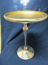 SHREVE & CO  SAN FRANCISCO  STERLING SILVER VERY FINE FOOTED COMPOTE NO MONOGRAM