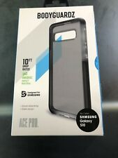 Authentic BodyGuardz Ace Pro Case Samsung Galaxy S10 Black/Smoke DCAKB-SAS61-3FS