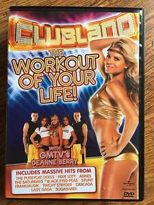 Clubland The Workout of Your Life DVD Exercise / Fitness Routine