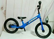 Strider 14x Sport Balance Bike,3 to 7 Yrs Awesome Blue PEDAL KIT SOLD SEPARATELY