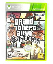 Grand Theft Auto San Andreas Xbox 360 Rockstar Games Platinum Hits No Map