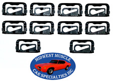68-80 GM Front Windshield Rear Window Reveal Moulding Molding Trim Clips 10pcs L