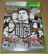 Sleeping Dogs (Microsoft Xbox 360) Brand New / Fast Shipping