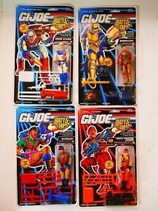 GI Joe Hasbro Battle Corps NOC set of 4 Figures 1992
