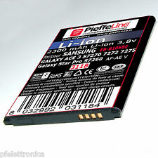 Batteria per Samsung Galaxy ACE 3 S7275 e Star Pro 2300mAh a Litio tipo B105be