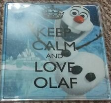 Frozen - Keep Calm and love Olaf Coaster!!!