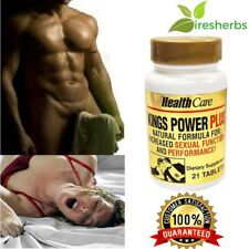 ERECTILE MALE ENHANCEMENT SEX PILL NATURAL SEXUAL PLEASURE ENHANCER - 21 PILLS