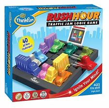 Rush Hour Traffic Jam Logic Puzzle ThinkFun Board Challenge Game 8