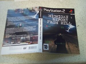 Michigan:Report From Hell PLAYSTATION 2/PS2 Replacement Box Art Sleeve/ Repro