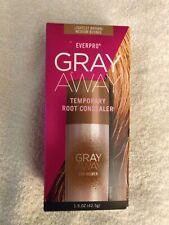 NEW Everpro Gray Away Root Concealer Lightest Brown/Medium Blonde 1.5 oz. Size