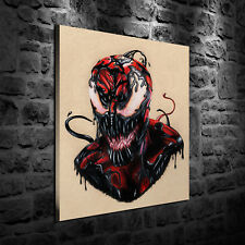 HD Print Oil Painting Decor Art On Canvas Carnage Symbiote 12x16inch Unframed