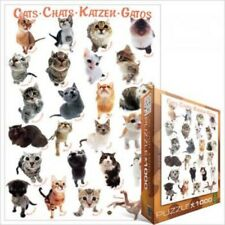 EG60001511  Eurographics Puzzle 1000 Piece Jigsaw  - Cats