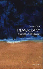 Very Good, Democracy Very Short Introduction Very Short Introductions, Crick, Bo