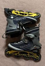 K2 Moto M ILQ7 Max Wheel 84mm Inline Skates Rollerblades Mens Size US 10