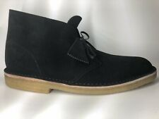 Clark's Desert Boot MADE IN ITALY Men's Black Suede Size US13M