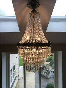 victorian crystal chandelier