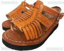 MEXICAN LEATHER UNISEX BABY TODDLER HUARACHES SANDALS