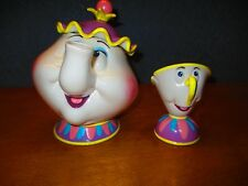 Musical Mrs. Potts Tea Pot & Musical Chip Cup, Be Our Guest!
