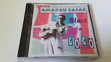 """AMADEU CASAS """"BLUES A GO-GO"""" CD 15 TRACKS COMO NUEVO"""