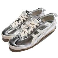 Asics Onitsuka Tiger Mexico 66 Patent Leather Silver Off White Men THL7C2-9399